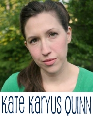 kate karyus quinn author page